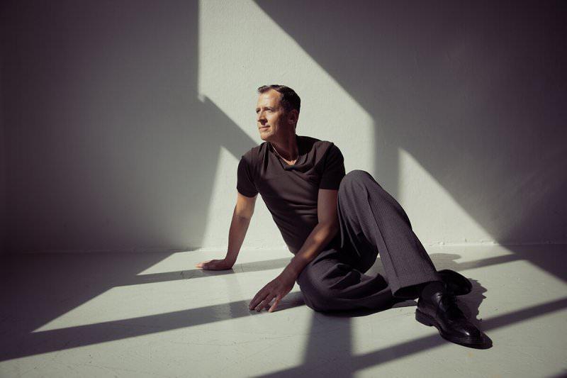 Berlin 28.05.2018, Sänger Gabriel Grünäugel im Portrait.